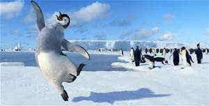 happy feet dancing